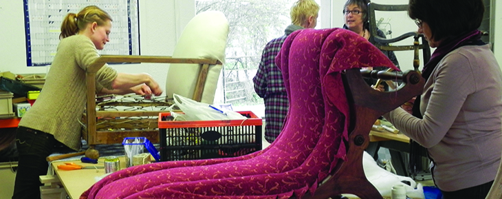 Upholstery course in Somerset