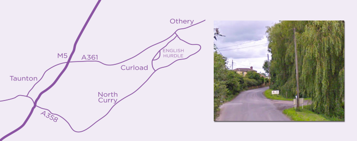 Location of Lilac Barn Craft Courses - Somerset